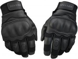 survival leather gloves