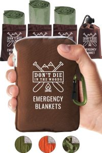 emergency space blankets