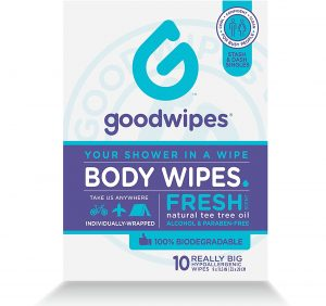 outdoor wet wipes