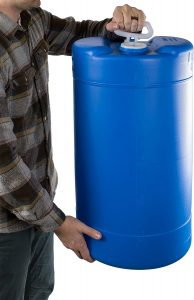 emergency water storage barrel