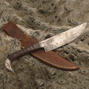 Norse Tradesman Viking Knife on fur