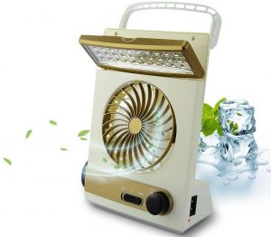 mini solar fans