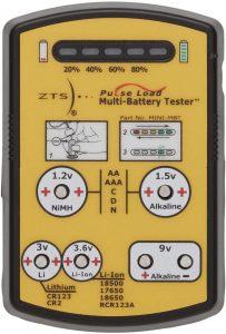 ZTS Mini Multi-Battery Load battery tester Mini
