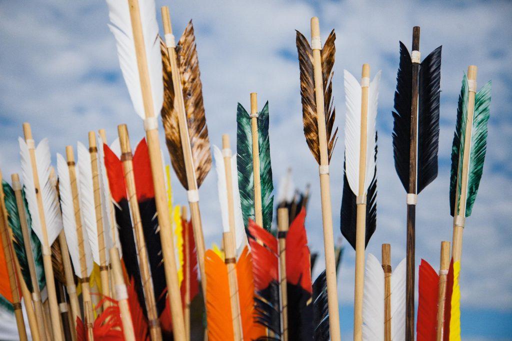 types of arrows fletchings
